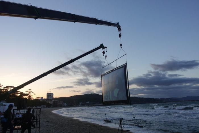 海ぞら映画祭とドローン